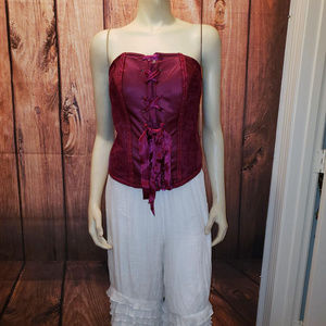 CACIQUE Strapless Steampunk Bustier, Size 18/20